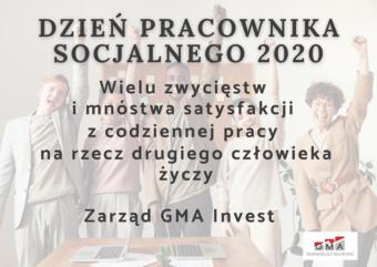 Życzenia GMA na Dzień Pracownika Socjalnego 2020